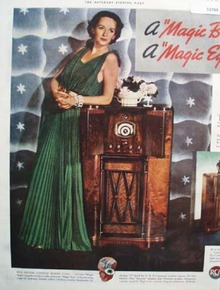 RCA Victor The Magic Eye 1935 Ad