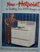 Hotpoint Ranges and Appliances 1949 Ad