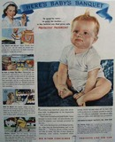 Can Manufacturers Institute Babies Banquet 1945 Ad