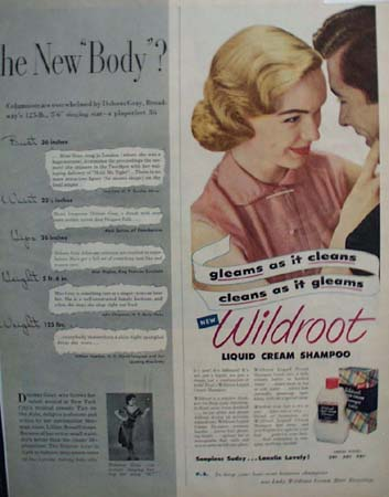 Wildroot Liquid Cream Shampoo 1951 Ad