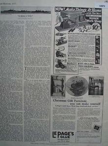 Waco Tool Works Home Work Shop 1927 Ad