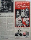 Pepsi Cola Real American Families 1949 Ad
