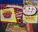 3 Different Baking Cookbooks 20th Century