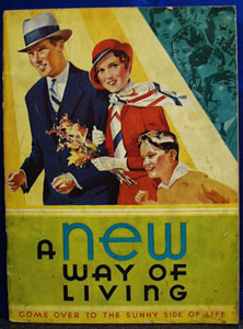 A New Way of Living Cookbook 1932