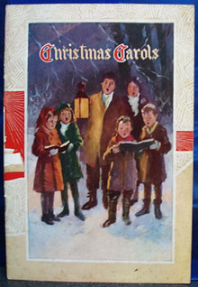 Christmas Carols From General Appliance Co 1941