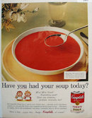 Campbells Tomato Soup Best Known Best Loved 1958 Ad