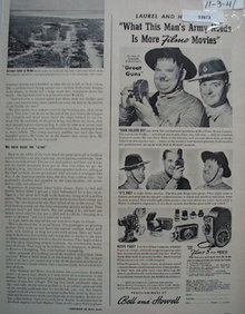 Bell And Howell Filmo Movie Cameras 1941 Ad