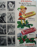 Clarks Chewing Gum 1942 Ad
