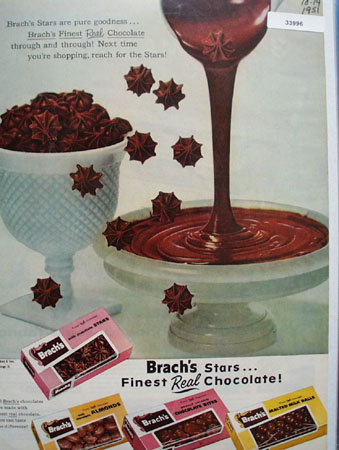 E.J. Brach and Sons Chocolate Candy 1951 Ad