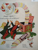 Necco Candy Wafers 1951 Ad