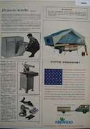 Ward Manufacturing Nimrod Camper 1964 Ad