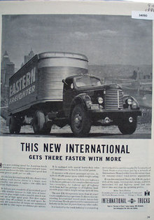 International Trucks Eastern Freighter 1946 Ad