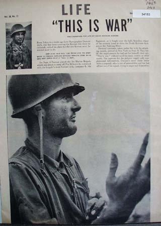 Pictures By David Douglas Duncan War 1950 Article