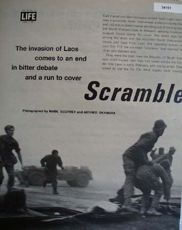 Invasion Of Laos 1971 Article