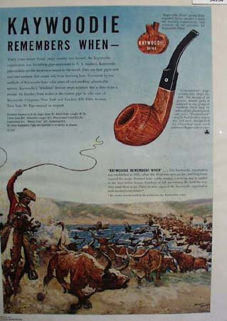 Kaywoodie Briar Pipes 1947 Ad