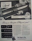 Wm. Rogers and Son Silverplate 1948 Ad