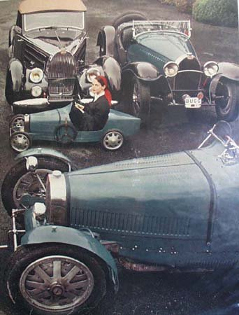 Ettore Bugatti Cars by Ken W. Purdy 1957 Article