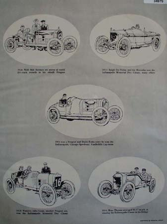 Automobile Sketches by Richard Green 1956
