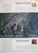 Capehart  Farnsworth Television 1946 Ad