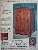 Capehart Television Phonograph Radio 1951 Ad