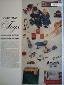 Toy Manufacturers Christmas Toys 1948 Ad