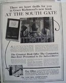 Youths Companion South Gate Book 1928 Ad
