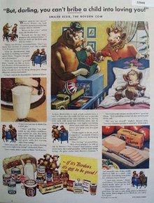 Bordens Co. Elsie the Borden Cow 1948 Ad