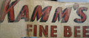Kamms Fine Beer Large Decal