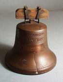 Copper Liberty Bell Bank 1919 Walkerton Indiana