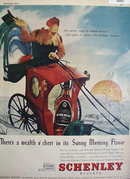 Schenley Reserve Whiskey 1947 Ad
