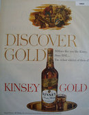 Kinsey Gold Whiskey 1951 Ad