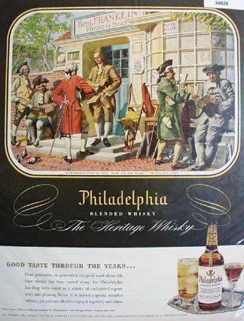 Philadelphia Blended Heritage Whisky