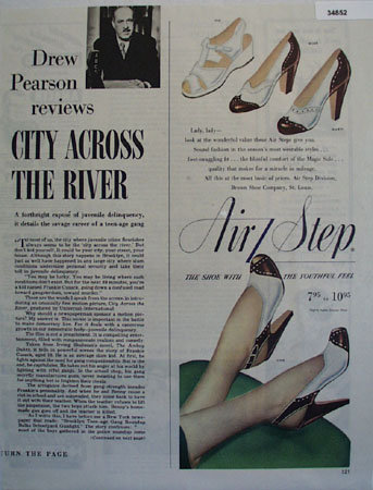Air Step Youthful Feel Shoes 1949 Ad