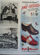 Poll Parrot Also Star Brand Shoes 1947 Ad