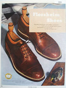Florsheim Shoes Small Grain 1949 Ad