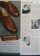 Nunn Bush Satisfying Wearers 1949 Ad