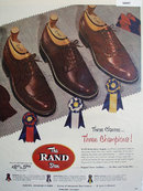 Roberts, Johnson And Rand Shoe 1952 Ad