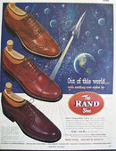 Rand Shoe Modern Styling 1953 Ad