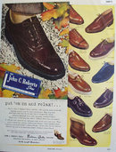 John C. Roberts Shoes For Particular Men 1949 Ad.