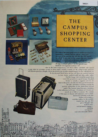 Campus Shopping Center 1949 Article