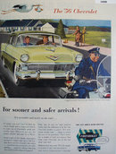 Chevrolet New Two Ten 1956 Ad