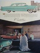 Cadillac Coupe De Ville 1956 Ad