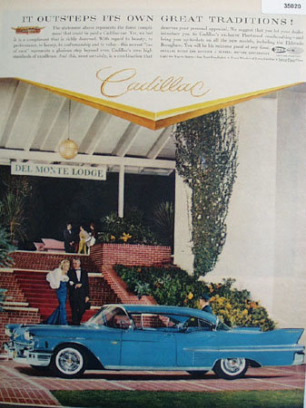 Cadillac Del Monte Lodge 1958 Ad