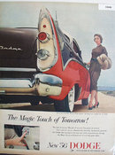 56 Dodge Magic Touch 1955 Ad