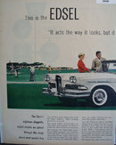 Ford Motor Co. Edsel Division 1957 Ad
