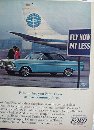 Ford Falcon First Class 1965 Ad