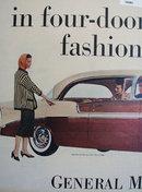 Chevrolet Bel Air Sports Sedan 1956 Ad