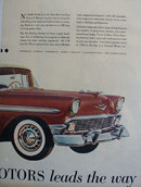 Chevrolet Bel Air Sports Sedan 1956 Ad