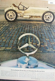 Mercedes Benz Racer 1961 Ad