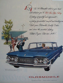 Oldsmobile General Motors 1959 Ad